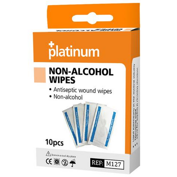 Platinum Non-Alcohol Wipes (10 Pack)