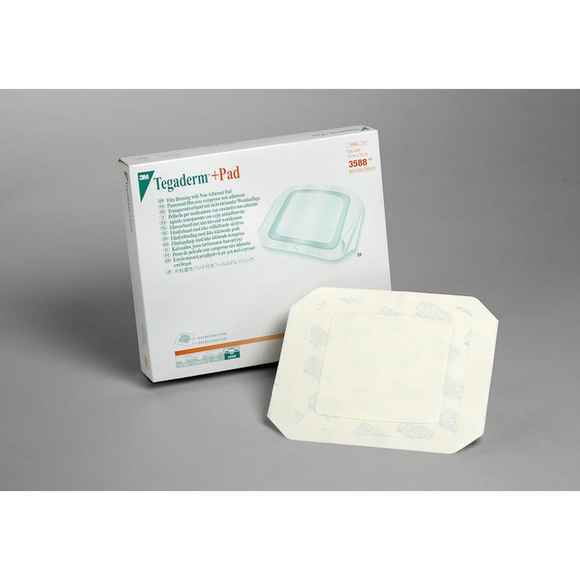 3M Tegaderm + Pad Sterile Dressing Non Adherent