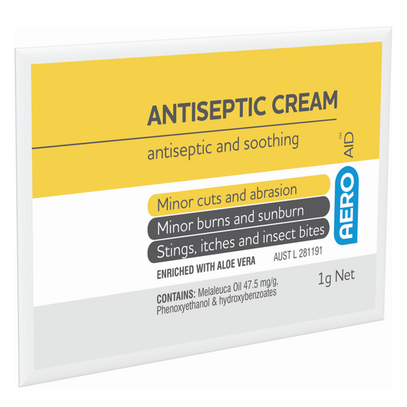 Antiseptic Itch Relief Cream Sachet