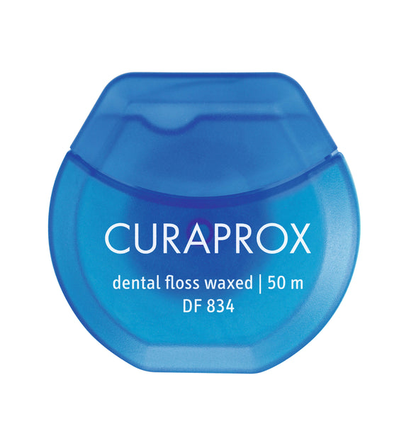 Curaprox Waxed Dental Floss Mint 50m