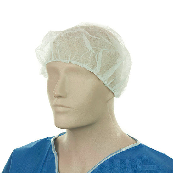 Bouffant Hat Non Sterile White Pack 100