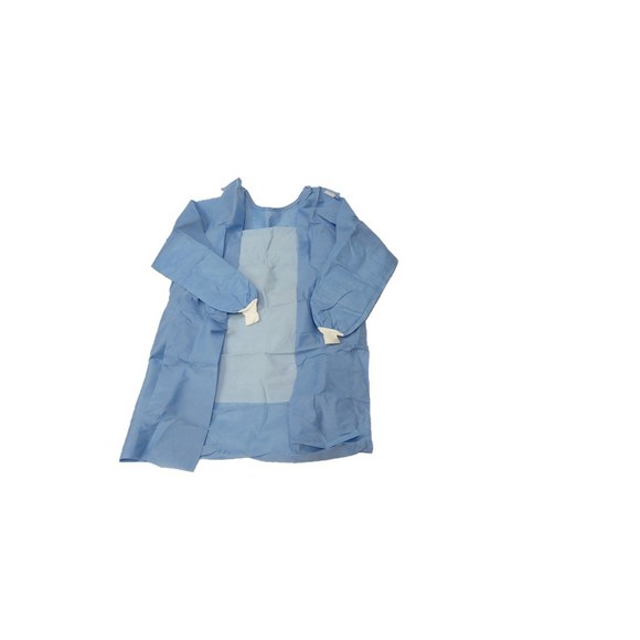 Surgical Gown Reinforced SMS with 2x Towels Sterile Large