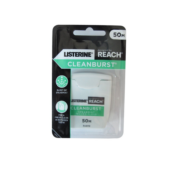 Reach Dental Floss Clean Burst Icy Spearmint 50m