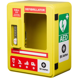 Outdoor Weatherproof Lockable AED Cabinet