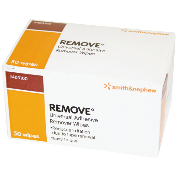Smith and Nephew Remove Universal Adhesive Remover Wipes Pack 50