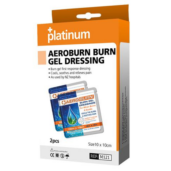 Platinum AeroBurn Gel Dressings (2 Pack)