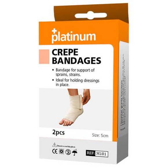 Platinum Crepe Bandages (2 Pack)