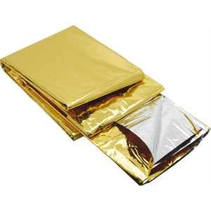 Survival Rescue Blanket Gold Foil 210mm x 160mm