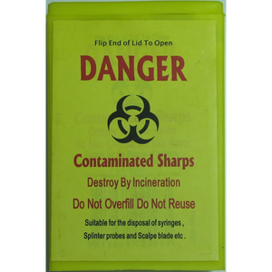 Sharps Container Small Rectangle