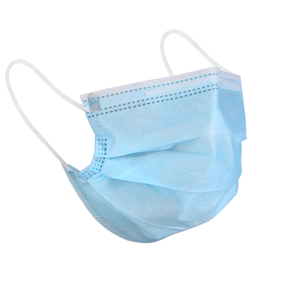Surgical Earloop Face Masks - Box 50