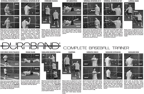 DuraBand Baseball Training Kit