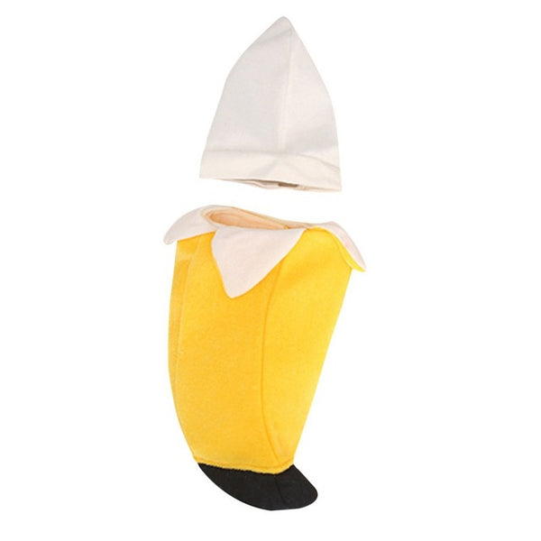 Pet Party Cosplay Banana Hat Costume Pet Fancy Couture
