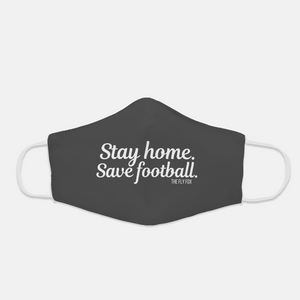 Stay Home Save Football Mask
