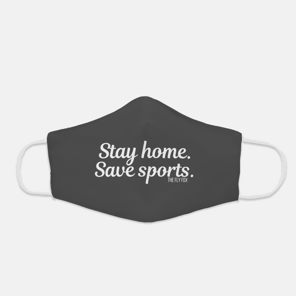 Stay Home Save Sports Mask