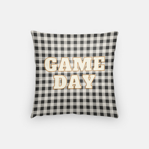 Game Day Buffalo Plaid Pillow