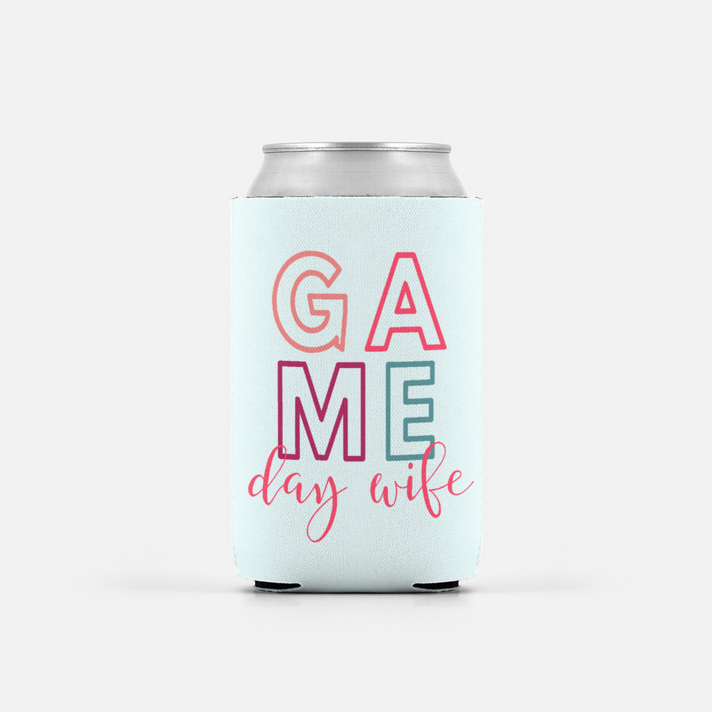 Game Day Wife Summer Coozie
