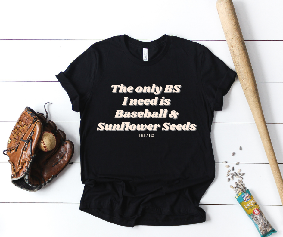 The Only BS I Need Tee - The Fly Fox Apparel