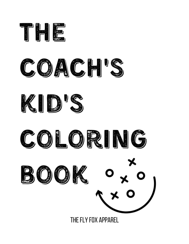 Coach's Kid's Coloring Book