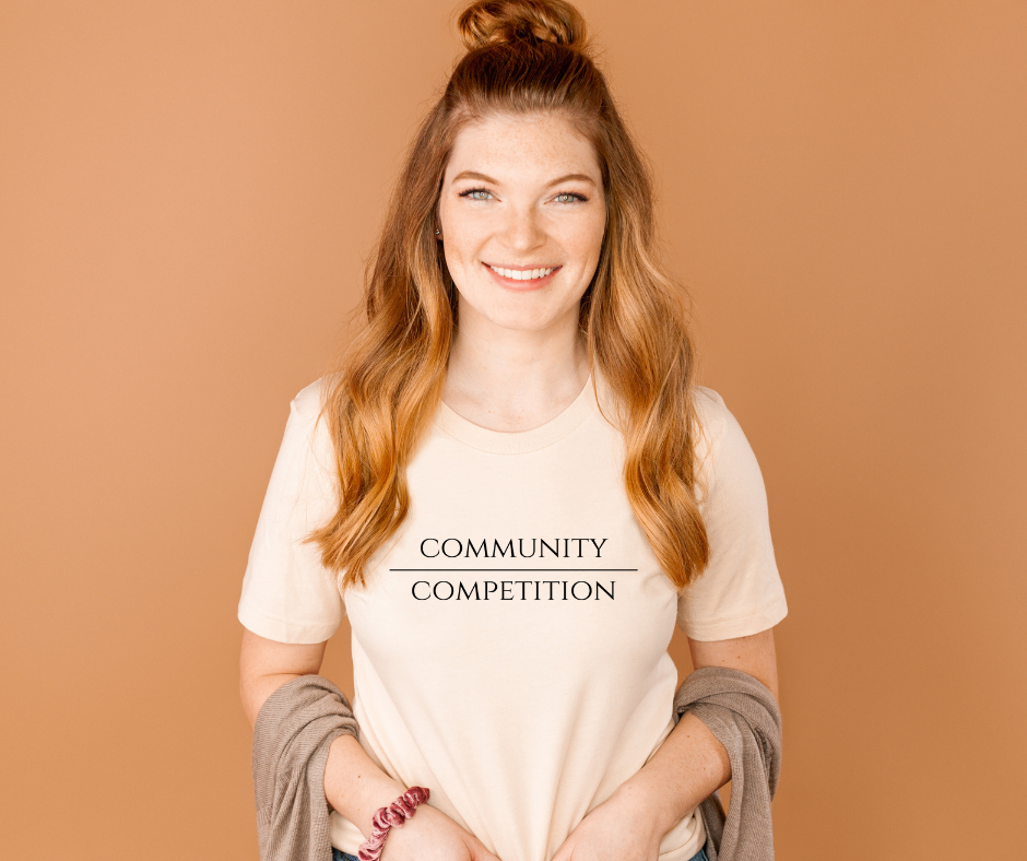 Community Over Competition Tee