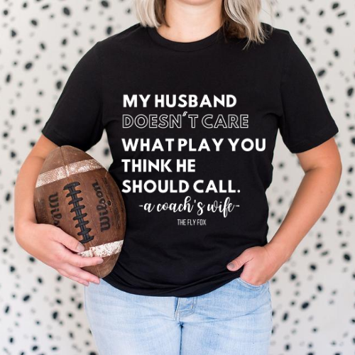 Husband Doesn't Care...