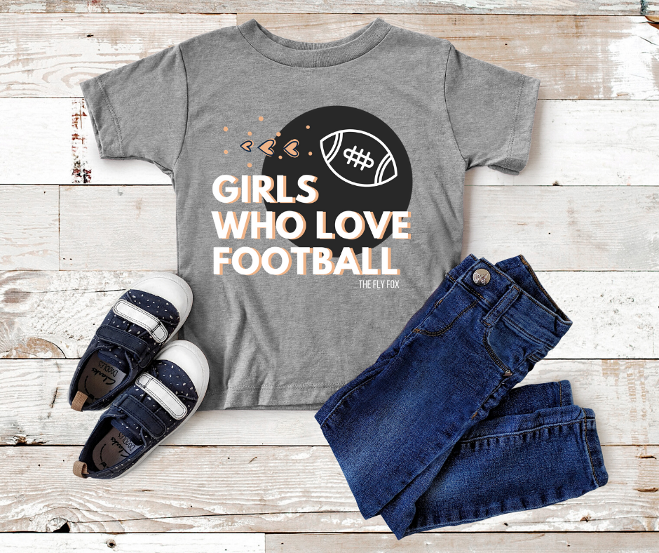 Girls Who Love Football (Infant-Youth)