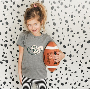 The Heart of the Coach's Daughter Tee (Infant-Youth) - The Fly Fox Apparel