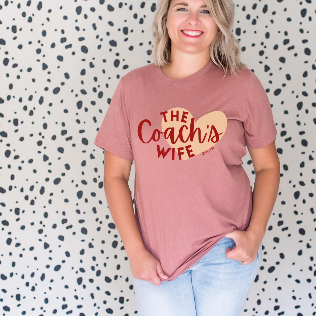 The Heart of a Coach's Wife Tee