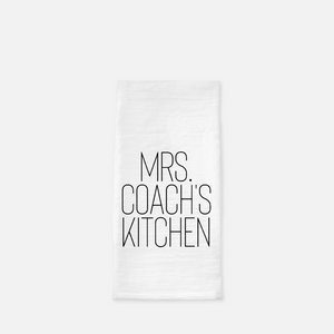 Mrs. Coach's Kitchen Tea Towel