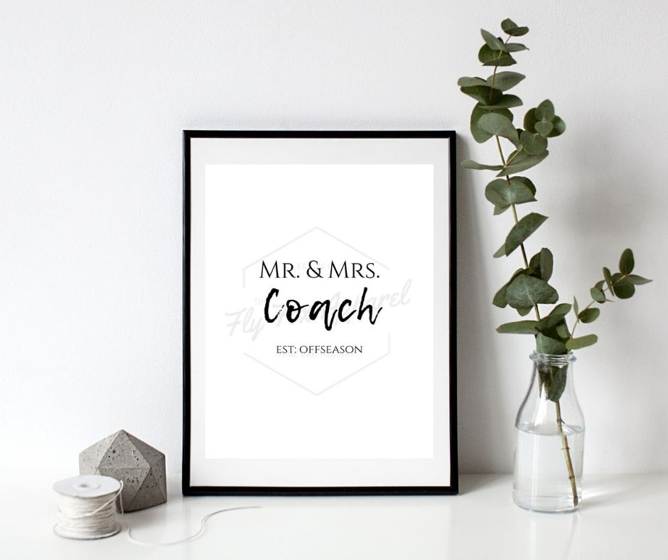 Mr. and Mrs. Coach PRINTABLE