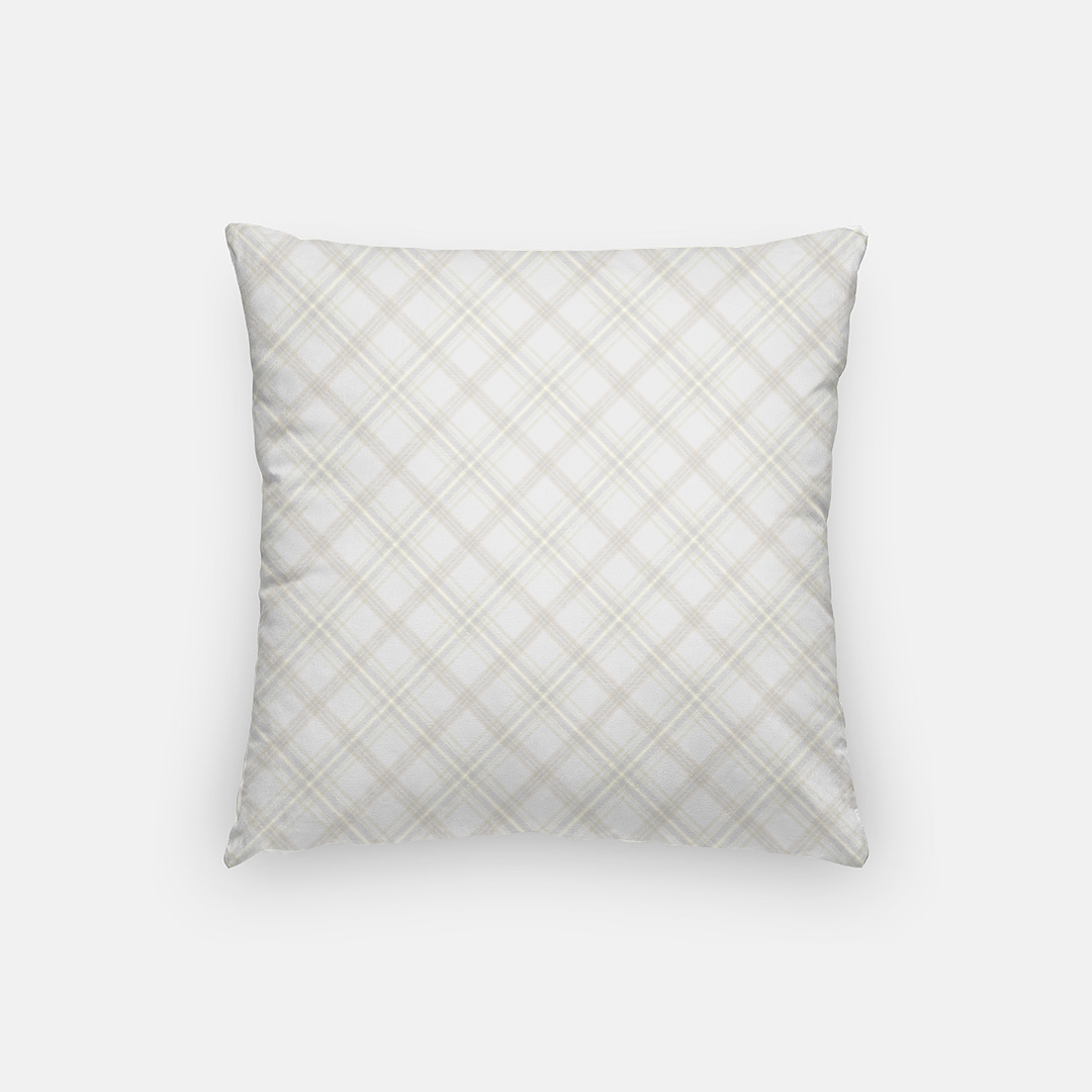 Be a Good Sport Plaid Pillow - The Fly Fox Apparel