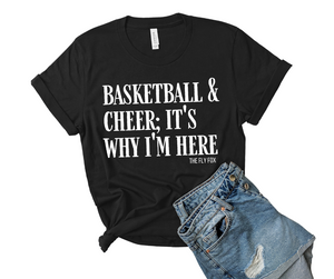 Basketball and Cheer Tee