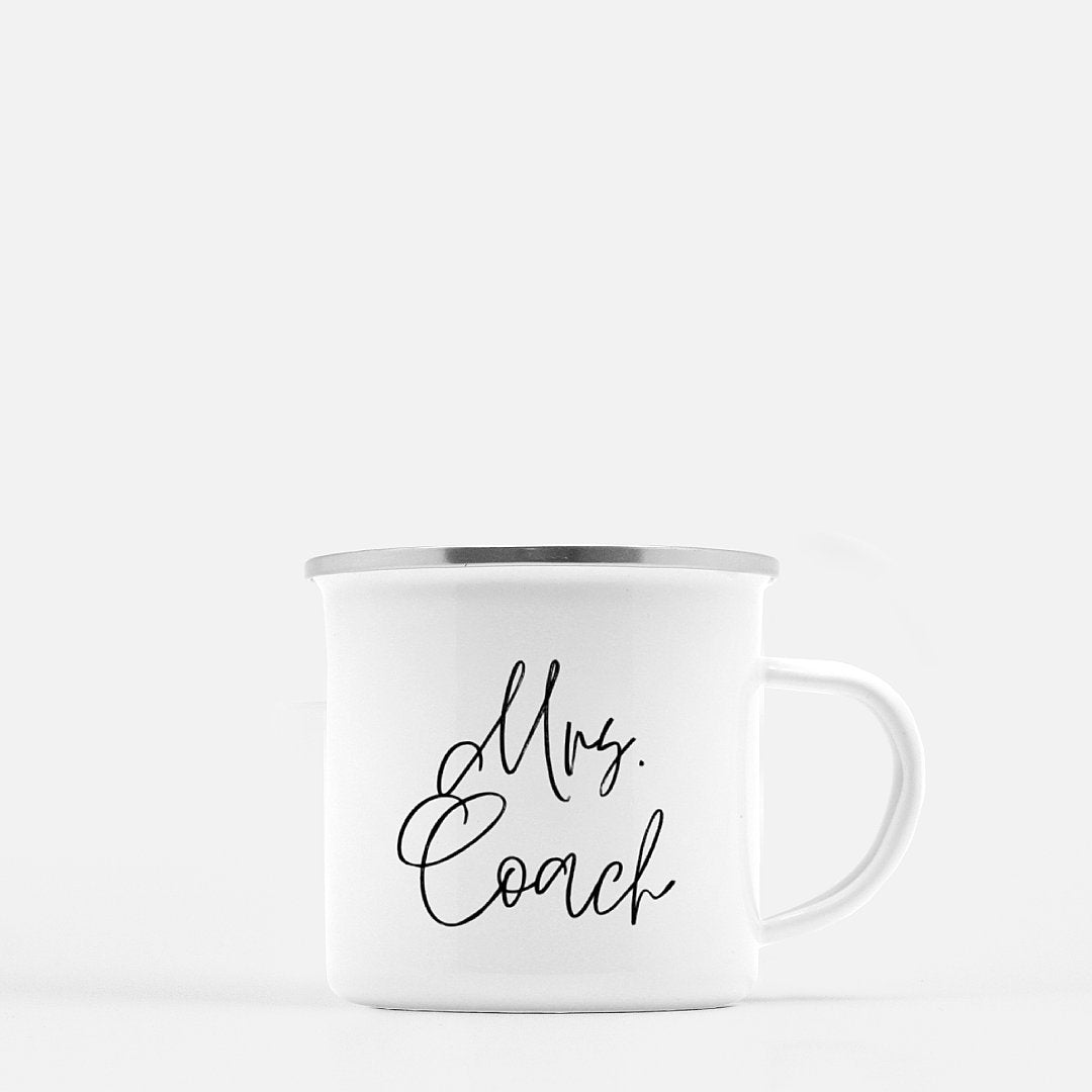 Mrs. Coach Camp Mug the-fly-fox-apparel.myshopify.com