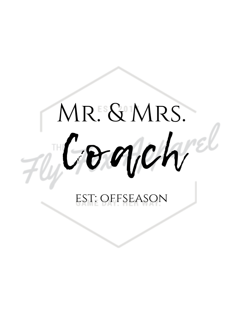 Mr. and Mrs. Coach PRINTABLE the-fly-fox-apparel.myshopify.com