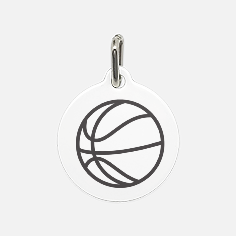 Coach's Good Luck Charm Ball Pet Tag