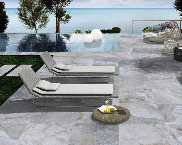 Argento Travertino - Atlantic Tile and Stone