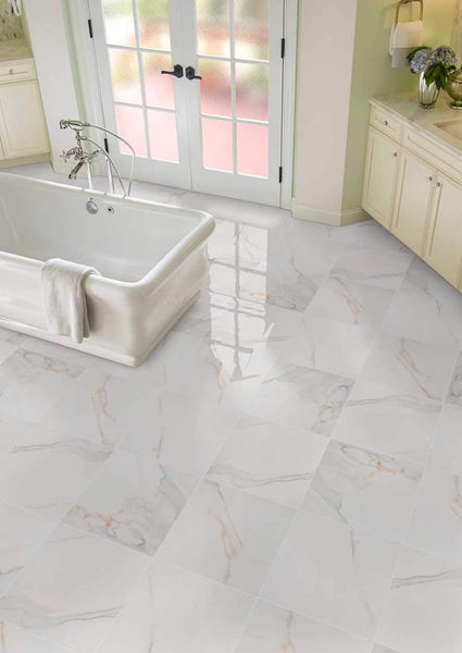 Calacatta Porcelain - Atlantic Tile and Stone