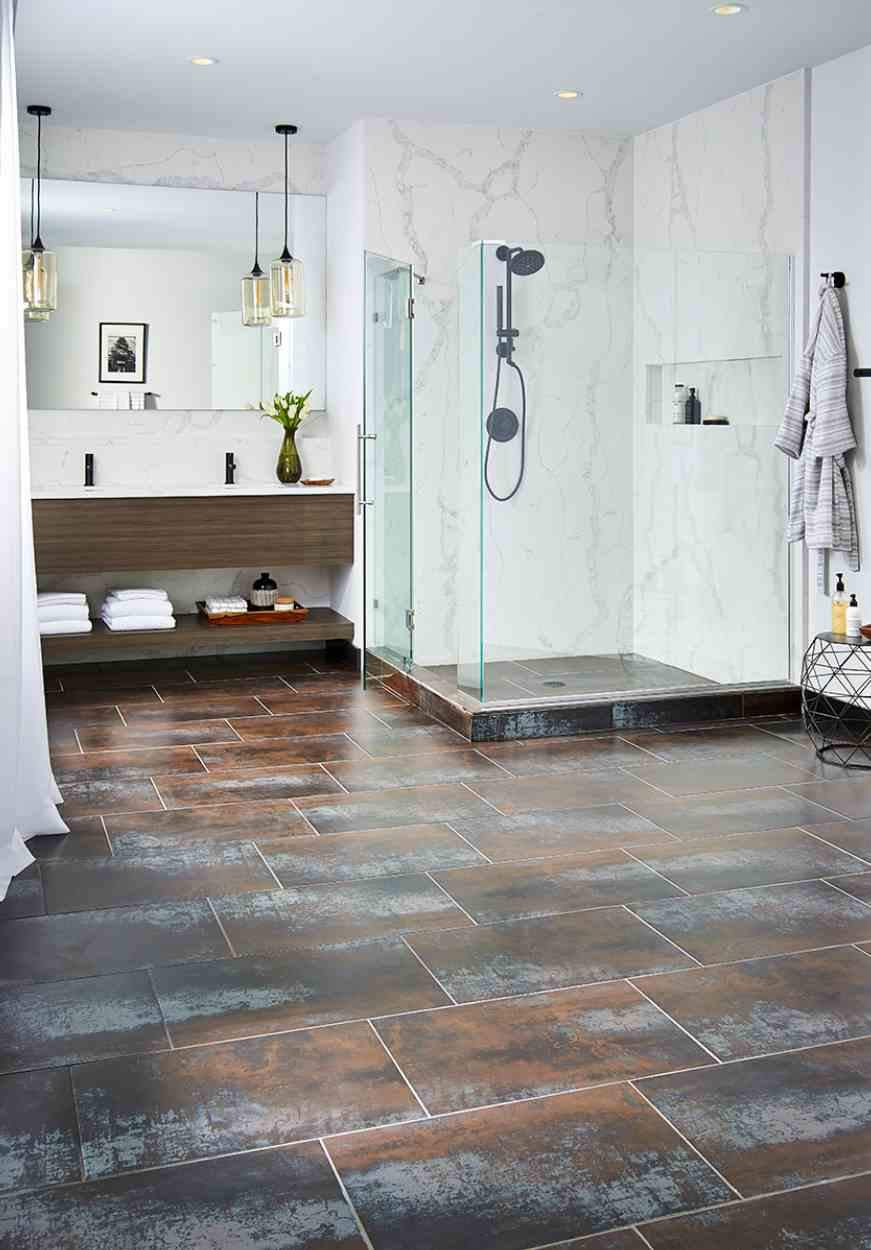 Saturn Coal Porcelain - Atlantic Tile and Stone