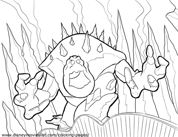 Printable Disney's Frozen Marshmallow Coloring Page