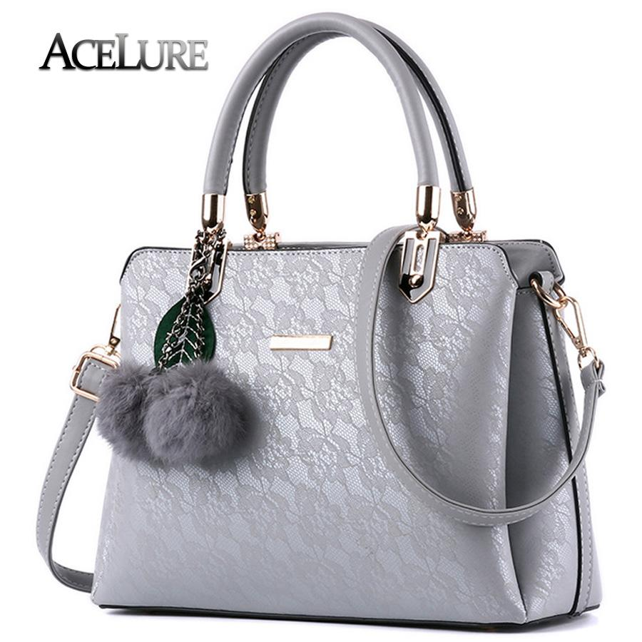 ACELURE Satchel Bag with Furball - BagPrime - Look Your Best with Amazing Bags