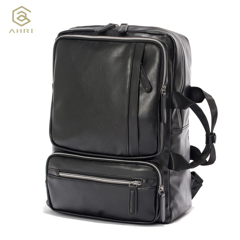 e10a8c0fb716 AHRI Edgy Military Leather Backpack - BagPrime - Look Your Best with Amazing  Bags
