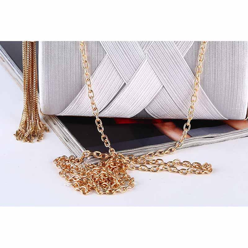 ALICE HERRY Glamorous Clutch with Tassel - BagPrime - Look Your Best with Amazing Bags