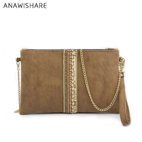 ANAWISHARE Tribal Patterned Clutch - BagPrime - Look Your Best with Amazing Bags