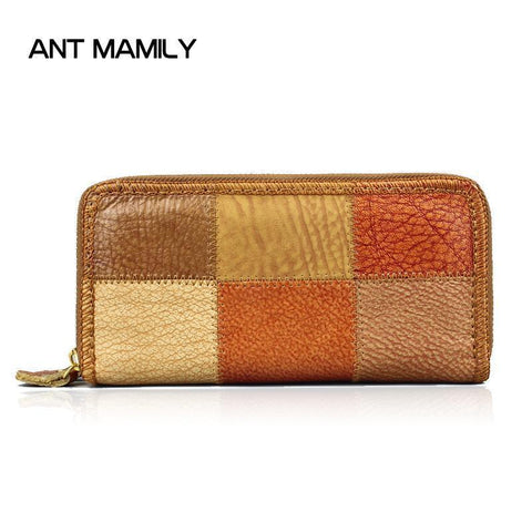ANT FAMILY Patchwork Wallet - BagPrime - Look Your Best with Amazing Bags