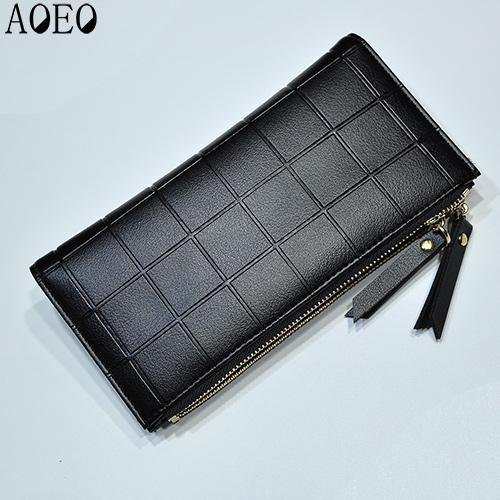 AOEO Checkered Wallet - BagPrime - Look Your Best with Amazing Bags