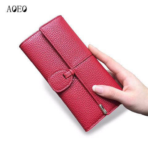 AOEO Leather Wallet - BagPrime - Look Your Best with Amazing Bags