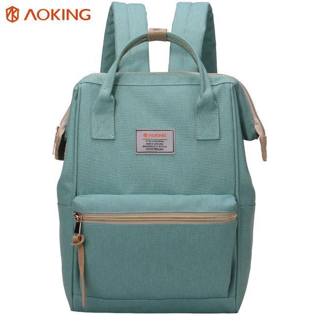 AOKING Preppy Chic Nylon Backpack - BagPrime - Look Your Best with Amazing Bags