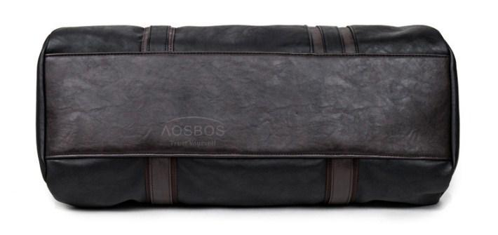 AOSBOS Leather Duffel Bag - BagPrime - Look Your Best with Amazing Bags