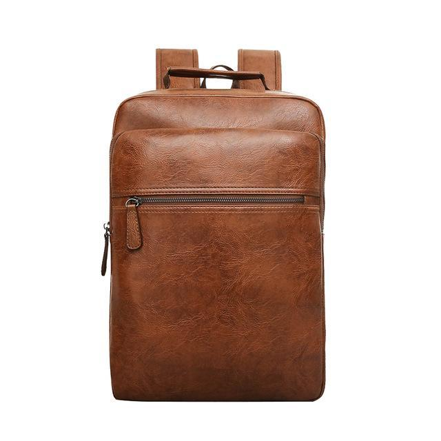 BADIYA Genuine Leather Backpack - BagPrime - Look Your Best with Amazing Bags