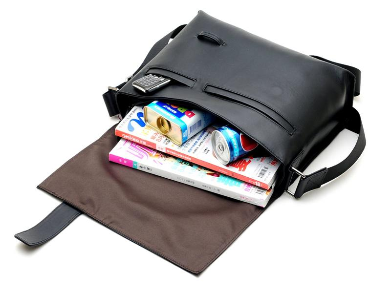 BAIGIO Leather Messenger Bag - BagPrime - Look Your Best with Amazing Bags