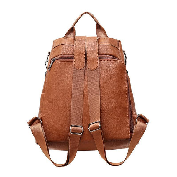 509fffd3920e ... BERAGHINI Retro Leather Backpack Shoulder Bag - BagPrime - Look Your  Best with Amazing Bags